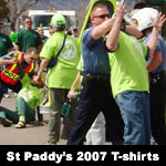 Click to buy St Patricks Day parade t-shirts