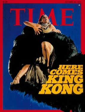 Time Magazine characterizes King Kong's enthousiasm