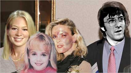 Petit family as media would have you see them- Natalee, JonBenet, Nicole and STRAW DOGS emasculated husband Dustin Hoffman.