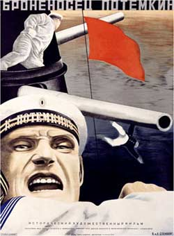 Battleship Potemkin -contemporary Soviet poster