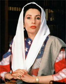 Benazir Bhutto in true colors