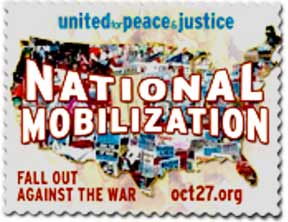 United For Peace and Justice in Denver OCT 27