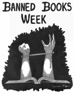 Banned Books Week Sept 29 - Oct 6