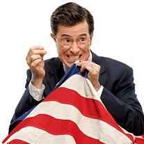 Stephen Colbert takes on Betsy Ross