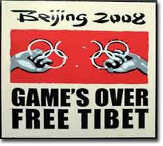 Beijing 2008 Game Over Free Tibet
