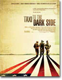 TAXI TO THE DARK SIDE poster rejected by the MPAA