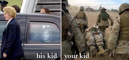 Jenna Bush is not going to Iraq