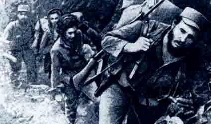 Fidel Castro led the Cuban revolutionary forces against Fulgencia Batista