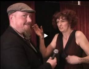 Craig Richardson spars with Babette