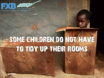 Some children do not have to tidy their rooms