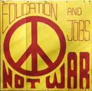Universal antiwar protest symbol