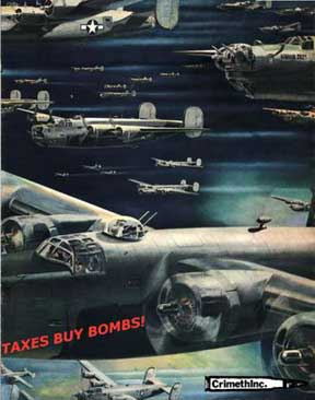 Taxes Buy Bombs