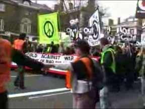 UK demonstration