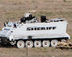 Texas Rangers advanced on the YFZ ranch prepared for resistance