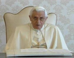 His Holiness Pope Benedict XVI