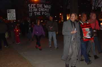 Martin Luther King Day march 2006