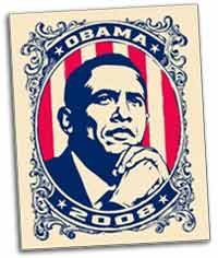 Barack Obama from the campaign of 1898