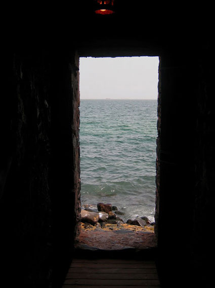Portal of sorrow, Gorée Island, West Africa