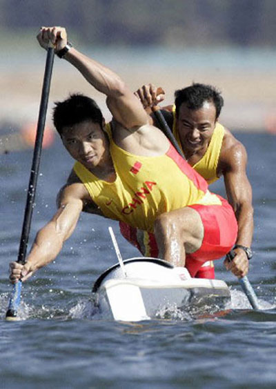 Chinese-Olympic-rowing