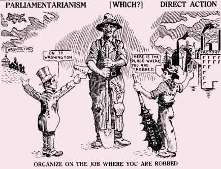 IWW: Direct action versus Parliamentariansim