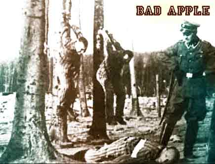 Nazi Torture Methods to Women http://notmytribe.com/2008/a-bad-apple-spoils-the-whole-bunch-83537.html
