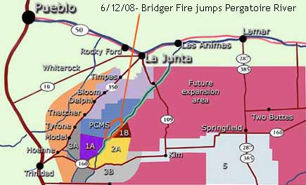 Bridger Fire initiates US Army scorched earth policy