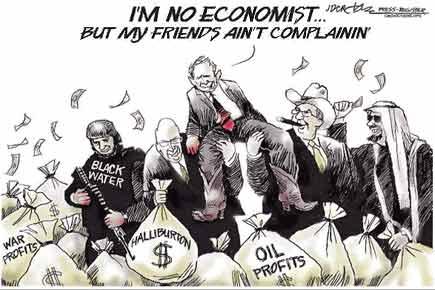 Bush -no economist, but friends arent complaining