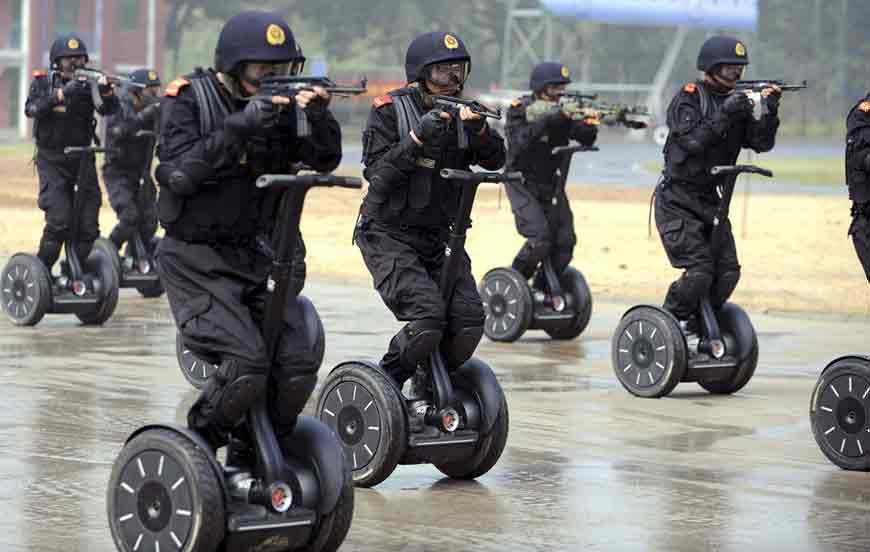 Wheeled Chinamen