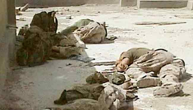 US casualties in Fallujah