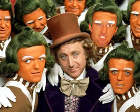 Willy Wonka Oompah Loompahs