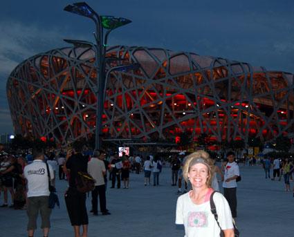 Beijing 2008 birdsnest dark