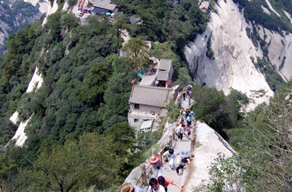 Mt Huashan, China trail