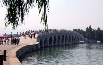 China Summer Palace bridge