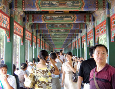 Summer Palace long corridor