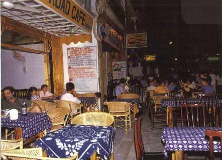 Street cafes in Yangshuo