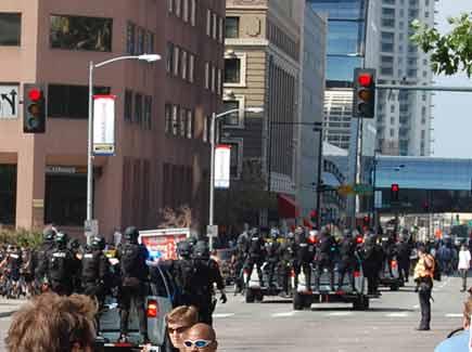 Cops take chase
