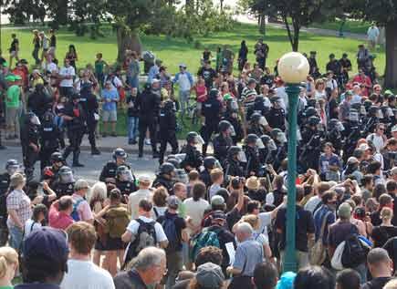 UA move toward cops