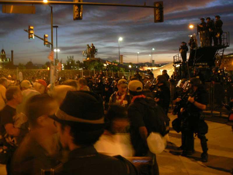 Denver Riot Police