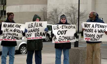 US and Ethiopia OUT OF SOMALIA