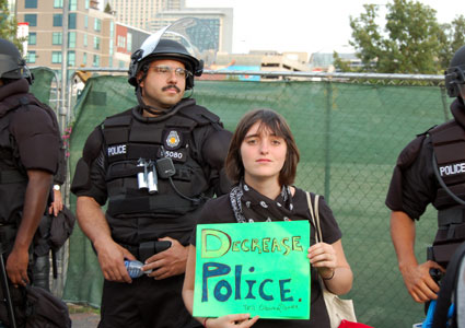 DNC-police-state