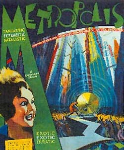 Metropolis science fiction horror