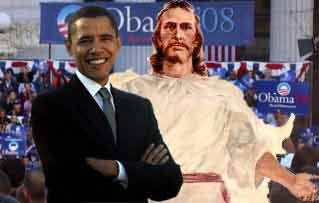 Obama and Jesus