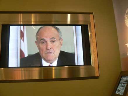 Giuliani says hello