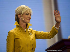 Cindy McCain elitist banana