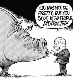 McCain puts lipstick on pig