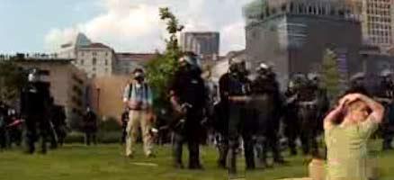 Reporter watches RNC park arrests