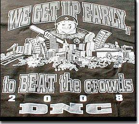 Denver Police DNC t-shirt