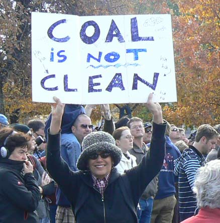 Coal is not clean