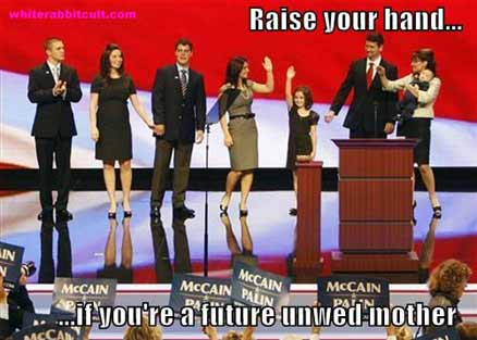 Palin family unwed mothers