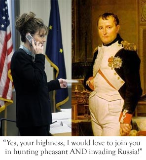 Sarah Palin prank-call from Napoleon